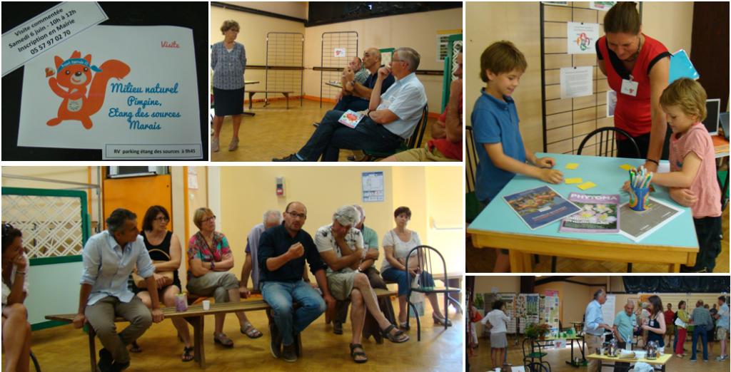 Photos du premier forum du développement durable de Latresne