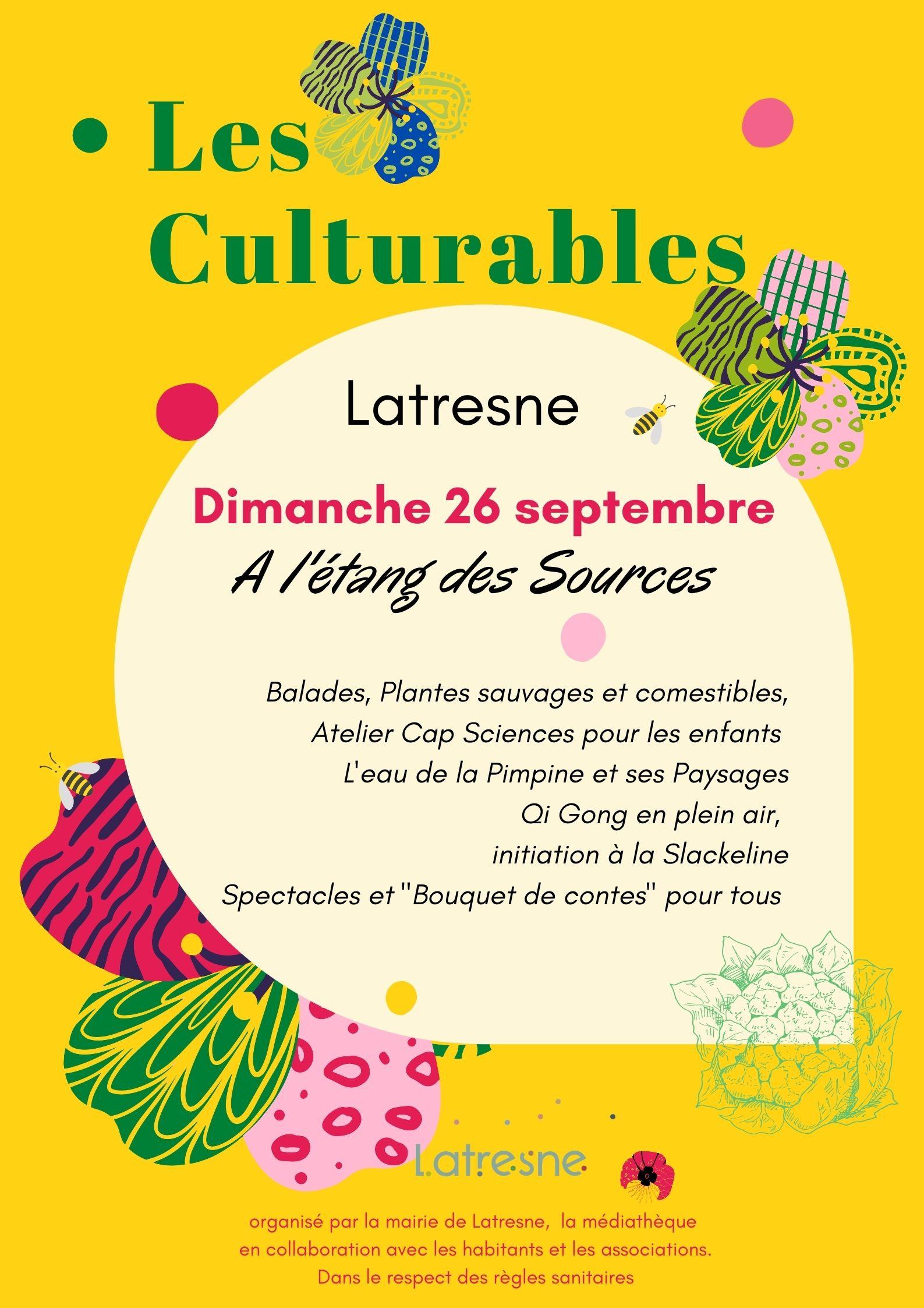 Culturables - Mairie de Latresne